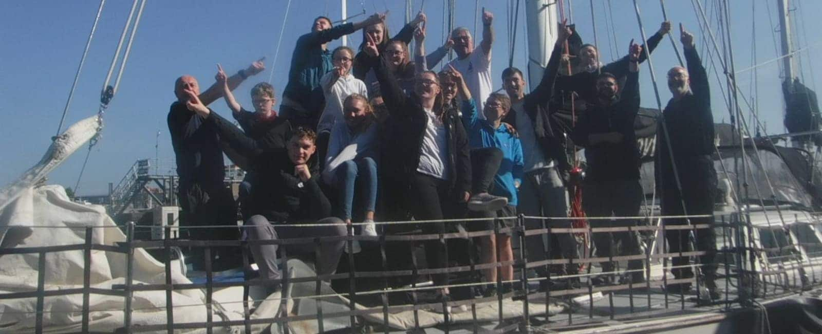 Ocean Youth Trust Scotland/Drumchapel G15 Voyage